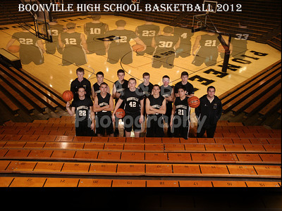 Boonville Boys Basketball 2012-13