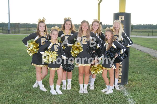 BMS Cheerleaders 2017-2018