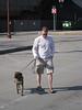 Ironman and marathon dog.