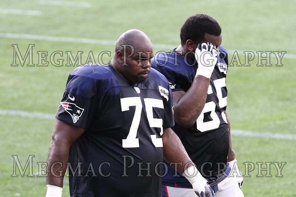 07/31/2012 NE Patriots In Stadium Practice