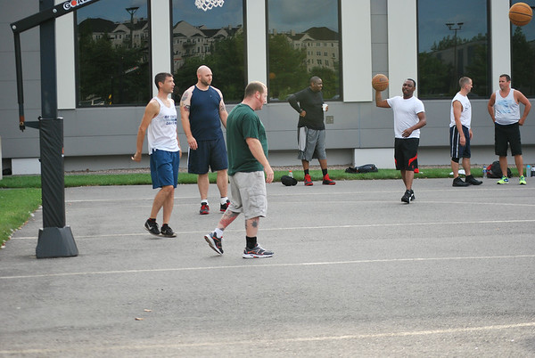 Boston Scientific Basketball Game