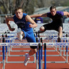 "Josh Cogdill,  of Longmont High School, wins the 110 meter hurdles on Saturday.<br /> For a  photo gallery of the track meet, go to  <a href=""http://www.dailycamera.com"">http://www.dailycamera.com</a>.<br /> Cliff Grassmick/ April 16, 2011"