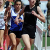 "Erin McLaughlin of Boulder High School, wins the girls 1600 meters on Saturday.<br /> For a  photo gallery of the track meet, go to  <a href=""http://www.dailycamera.com"">http://www.dailycamera.com</a>.<br /> Cliff Grassmick/ April 16, 2011"
