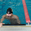 "Monarch High School's Willy VanDehy tries to catch his breath after winning the 50-Yard Freestyle race during a Boulder county swim meet on Saturday, April 16, at the South Boulder Recreation Center in Boulder.<br /> For more photos and video go to  <a href=""http://www.dailycamera.com"">http://www.dailycamera.com</a><br /> Jeremy Papasso/ Camera"