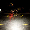 Boulder's Axel Wessell (left) wrestles Horizon's Teller Junak during the match at Monarch High School in Louisville, Thursday, Jan. 28, 2010.  <br /> KASIA BROUSSALIAN