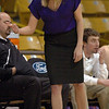 New Boulder girls coach Sara Klippert during the Fairview game.<br /> <br /> Cliff Grassmick / January 22, 2010