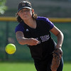 Jessie Hurdt of Boulder pitches against Fairview.<br /> Cliff Grassmick / September 17, 2009