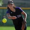 Jessie Hurdt of Boulder pitches against Fairview.<br /> Cliff Grassmick / September 17, 2009
