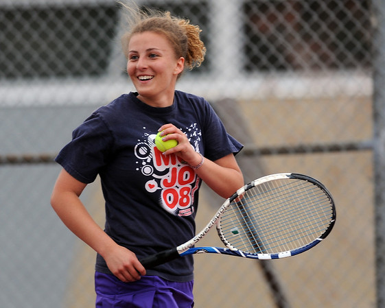 """Caila Criss of Boulder High works against Fairview.<br /> For more photos, go to  <a href=""""http://www.dailycamera.com"""">http://www.dailycamera.com</a>.<br /> Cliff Grassmick / April 21, 2010"""