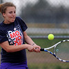 "Caila Criss of Boulder High works against Fairview's Kat Pepin.<br /> For more photos, go to  <a href=""http://www.dailycamera.com"">http://www.dailycamera.com</a>.<br /> Cliff Grassmick / April 21, 2010"