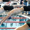 SWIM<br /> Boulder's Jake O'Hair starts the 100 butterfly.<br /> Photo by Marty Caivano/Camera/March 16, 2010