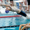 SWIM<br /> Jake O'Hair of Boulder leads out the 200 medley relay.<br /> Photo by Marty Caivano/Camera/March 16, 2010