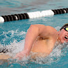 SWIM<br /> Boulder's Ben Searchinger wins the 500 freestyle.<br /> Photo by Marty Caivano/Camera/March 16, 2010