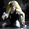 "Fairview High School's Cliff Lester works a takedown on Leek Skinner during a 132 lb. wrestling match against Fairview High School on Thursday, Dec. 6, at Fairview. Lester won the match. For more photos of the match go to  <a href=""http://www.dailycamera.com"">http://www.dailycamera.com</a><br /> Jeremy Papasso/ Camera"