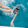 Monarch senior Whitney Doughert does a flip turn while changing from backstroke to breast for the 200 Yard IM race during the Boulder County Invitational at the South Boulder Recreation Center in Boulder, Saturday, Jan. 23, 2009. <br /> KASIA BROUSSALIAN