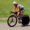 "Joanna Zieger was the first pro to come off the bike in the Boulder Peak Triathlon on Sunday. Zeiger was the first female finisher.<br /> For more photos  and video of the Boulder Peak, go to  <a href=""http://www.dailycamera.com"">http://www.dailycamera.com</a><br />  Cliff Grassmick / July 11, 2010"