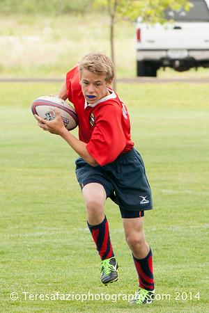 Boulder U14s Rugby 060714