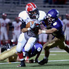 "Boulder High School's Cole Somer tries to tackle Logan Bock during a game against Brighton High School on Thursday, Sept. 20, at Recht Field in Boulder. For more photos of the game go to  <a href=""http://www.dailycamera.comJeremy"">http://www.dailycamera.comJeremy</a> Papasso/ Camera"