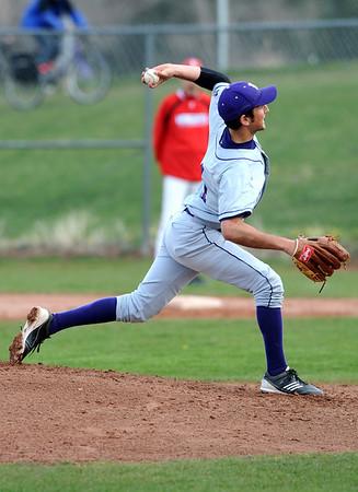 BVSFV<br /> Boulder's pitcher, Drew Noolas.<br /> Photo by Marty Caivano/April 25, 2011