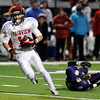 "Fairview High School's Cameron Frazier makes a catch and runs it in for a touchdown during a game against Boulder High School on Friday, Oct. 26, at Recht Field in Boulder. Fairview won the game. For more photos of the game go to  <a href=""http://www.dailycamera.com"">http://www.dailycamera.com</a><br /> Jeremy Papasso/ Camera"