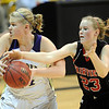"Hannah Hyde, right, of Fairview, tries to get a steal from  Ande Lampert of Boulder.<br /> For more photos of the game, go to  <a href=""http://www.dailycamera.com"">http://www.dailycamera.com</a>.<br /> Cliff Grassmick / February 18, 2011"