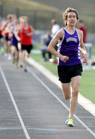 TRACK<br /> Boulder's Ryder Tam wins the 800 with a sizable lead.<br /> Photo by Marty Caivano/Camera/March 17, 2010