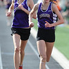 TRACK<br /> Boulder's Sam Lewis wins the 1600, followed closely by teammate Celia Jaeger.<br /> Photo by Marty Caivano/Camera/March 17, 2010