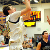 "Boulder High School senior Riley Grabau shoots a two-pointer during a basketball game against Fossil Ridge on Thursday, Jan. 27, at Boulder High School. Boulder defeated Fossil Ridge 54-51. Go to  <a href=""http://www.dailycamera.com"">http://www.dailycamera.com</a> for a photo gallery of the game.<br /> Jeremy Papasso/ Camera"