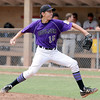 """Kevin Flores of Boulder pitches against Gene Taylor's Baseball on Thursday in Legion play.<br /> For  more photos of the game, go to  <a href=""""http://www.dailycamera.com"""">http://www.dailycamera.com</a>.<br /> Cliff Grassmick  / August 2, 2012"""