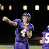 "Boulder High School's Phil Swisher throws a pass during a game against Poudre High School on Friday, Sept. 14, at Boulder High School. For more photos of the game go to  <a href=""http://www.dailycamera.com"">http://www.dailycamera.com</a><br /> Jeremy Papasso/ Camera"