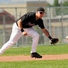 "Boulder's Danny Graves makes a play on a ground ball on Friday, July 29, during a game against the Rocky Mountain Hit Club at Fairview High School in Boulder. Boulder defeated Rocky Mountain 8-6. For more photos go to  <a href=""http://www.dailycamera.com"">http://www.dailycamera.com</a><br /> Jeremy Papasso/ Camera"