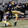 "Boulder High School kicker Andrew Kurtz kicks a field goal on Friday, Sept. 16, during a football game against Smoky Hill High School at Recht Field in Boulder. For more photos of the game go to  <a href=""http://www.dailycamera.com"">http://www.dailycamera.com</a><br /> Jeremy Papasso/ Camera"