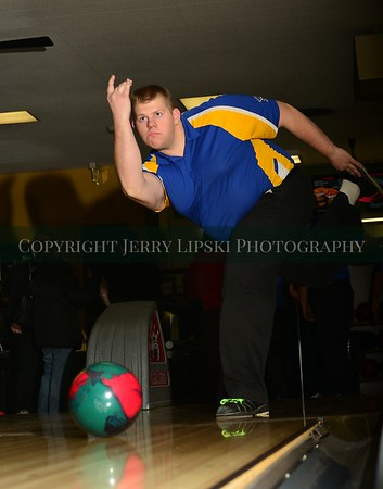 Jan 14 2016 - Highland Trojan Bowling Team
