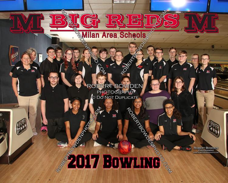 Milan Bowling 2017 Team 8x10