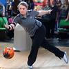 Katie ____________ bowling on lane two during D-B's sectional match vs Gatlinburg Pitman. Photo by ned Jilton II