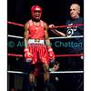 Traditionnel meeting de boxe de Pâques dans la salle polyvalente de Palézieux, organisé par le Boxing-Club de Châtel-St-Denis.<br /> Ici, la victoire de Bernardino De Brito (rouge) face à l'Italien Rosario Certo (aux points, 2 juges à 1).