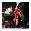 Samedi 7 avril 2012: traditionnel meeting de boxe organisé à Palézieux par le Boxing-Club de Châtel-St-Denis.<br /> Bojan Todosjevic, BC Châtel-Saint-Denis, en train d'être soigné après avoir encaissé un coup au visage asséné par Robert Barbezat, BC Martigny. La blessure du Châtelois sera même inspectée par le médecin du meeting.