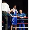 Samedi 7 avril 2012: traditionnel meeting de boxe organisé à Palézieux par le Boxing-Club de Châtel-St-Denis.<br /> Seid Dzemaili, BC Zurich, à l'issue de son match (perdu) contre Evariste Djodji (Villars-sur-Glâne).