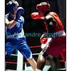 Samedi 7 avril 2012: traditionnel meeting de boxe organisé à Palézieux par le Boxing-Club de Châtel-St-Denis.<br /> Ici, Tcharles Per Mendes, BC Octodure (rouge), contre Nicola Bigotta, BC Locarno (bleu).