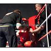 Samedi 7 avril 2012: traditionnel meeting de boxe organisé à Palézieux par le Boxing-Club de Châtel-St-Denis.<br /> Ici, Nicolas Eienberger (rouge), BC Châtel-St-Denis, dans son coin avec François Gilliand (droite)