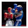 Samedi 7 avril 2012: traditionnel meeting de boxe organisé à Palézieux par le Boxing-Club de Châtel-St-Denis.<br /> Ici, le match entre Nicolas Hahlen (bleu), BC Monthey, contre Bielel Medani (rouge), La Glâne.