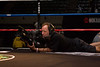 Finally I found someone that works harder than me at a fight! SHOBOX Camera man...hey... are you guys hiring???