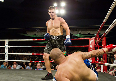 Shane Quinn v Atalili Fai Controlled Aggression 4 Fight Night  Shane Quinn won by TKO in the 2nd Round (c) MILOS LEKOVIC