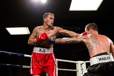 Sam Mawson v Daniel Maxwell Controlled Agression 4 Fight Night (c) MILOS LEKOVIC