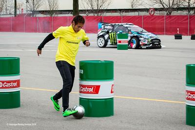 Neymar JR  And Ken Block