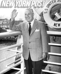 Julius Helfand, World President of Boxing,1955