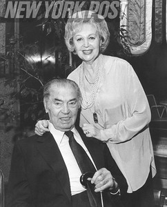 Mr. and Mrs. Jack Dempsey Attends the Olympic Countdown.