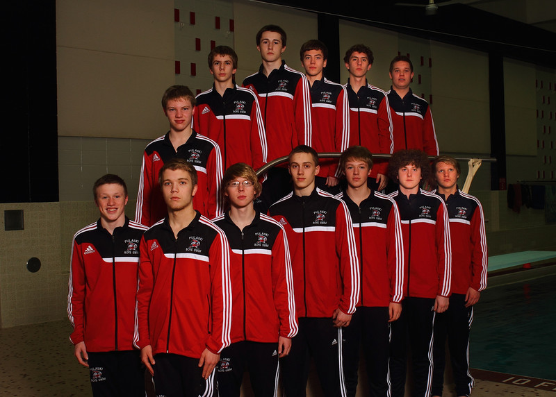 New warm ups - team photo