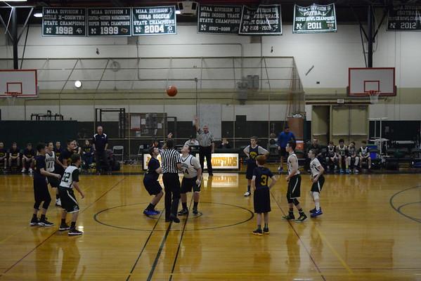 Boys 8th grade travel basketball vs Nashoba