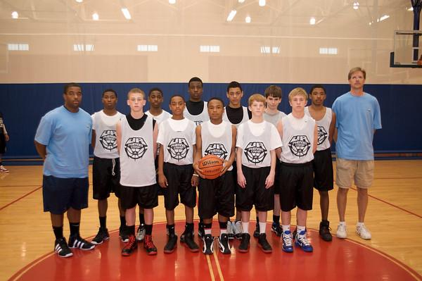 Boys All-Star Team shots
